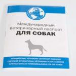 Ветеринарный паспорт - Образец